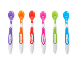 Munchkin Baby Spoon Soft Tip – Infant Spoons 6 pcs.