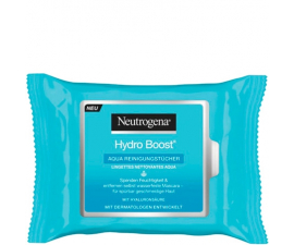 Neutrogena Hydro Boost Cleansing Wipes - 25 pieces