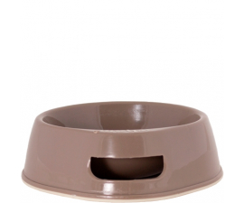 Wham Small Dog Bowl - Brown