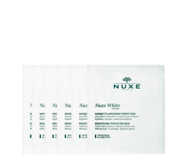 Nuxe White Brightening Perfecting Face Mask - 6 pcs