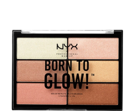 NYX Born To Glow Highlighter Palette
