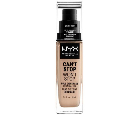 NYX Can T Stop Won T Stop Foundation - Light Ivory