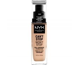 NYX Can T Stop Won T Stop Foundation - Nude