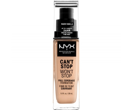 NYX Can T Stop Won T Stop Foundation - Warm Vanilla