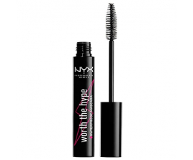 NYX Worth The Hype Waterproof Mascara - Sort