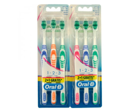 Oral-B Classic Care Toothbrush Medium 3 pcs