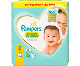 Pampers Premium Protection Str. 2 (4-8 Kg) - 80 PCS