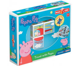 Geomag Magicube Travel With Peppa Pig