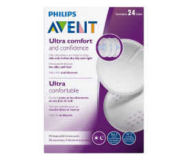 Philips Avent Ultra Comfort Breast Pads - 24 PCS