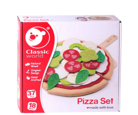 Classic World Pizza Play Set - 37 Pieces