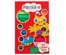 Plasticine Colour Max - 24 PCS