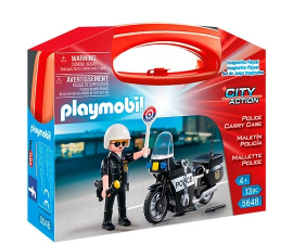 Playmobil City Action Police Suitcase - 5648