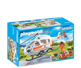 Playmobil City Life Rescue Helicopter  - 70048