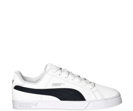 Puma Smash Vulc Sneakers - White & Blue