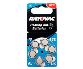 Rayovac Acoustic Special 675 - 6 pcs