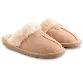 Relax Fur Slippers - Brown