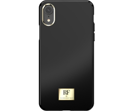 RF by Richmond & Finch Black Tar Mobile Cover - iPhone XR