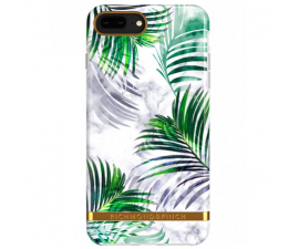 Richmond & Finch White Marble Tropics Mobil Cover - IPhone 6/7/8 Plus