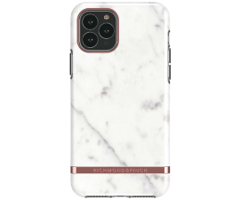 Richmond & Finch White Marble Mobile Cover - iPhone 11 Pro Max