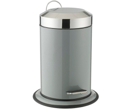 Scandinavia Bathroom Pedal Bucket - Grey