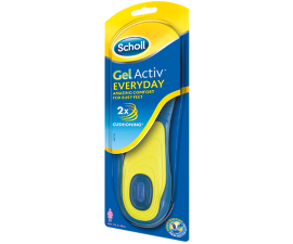 Scholl GelActiv Everyday Insoles - Size 35.5-40.5