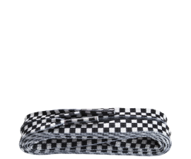 Shoestring Laces - White & Black Checkered