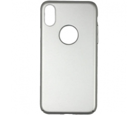 BasicPlus iPhone X Cover - Silver