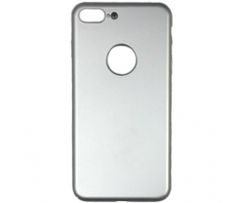 BasicPlus iPhone 8+ Cover - Silver
