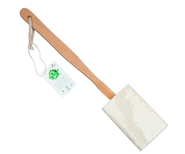 So Eco Loofah With Wooden Handle