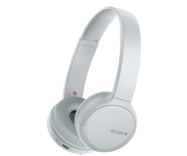 Sony WH-CH510 Bluetooth Wireless Headphones - White