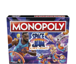 Space Jam Monopoly Board Game