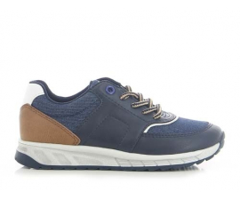 Sprox Childs Shoes -Navy/Brown