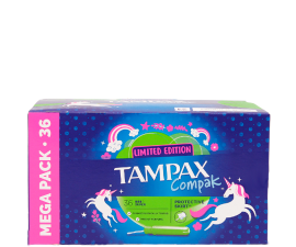 Tampax Limited Edition Compak Super Tampons - 36 pcs