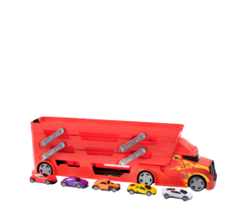 Teamsterz Stunt Transporter With 5 Cars