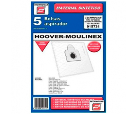 Tecnhogar Hoover-Moulinex Vacuum Cleaner Bags - 5 pieces