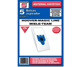 Tecnhogar Hoover/Magic Line/Miele Vacuum Cleaner Bags - 5 pieces