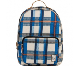 The Pack Society Backpack - Blue Check