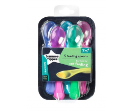 Tommee Tippee Explora Spoons - 5 pcs