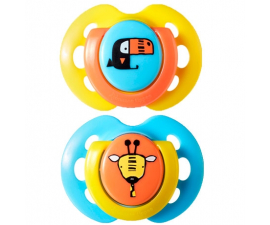 Tommee Tippee Fun Style 0-6mdr Sut - 2 PCS