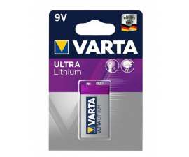 Varta Ultra Lithium 9 V Battery
