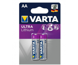 Varta Ultra Lithium AA Batteries - 2 pack