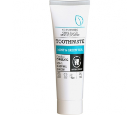 Urtekram Mint & Green Tea Toothpaste - 75 ml