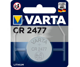 Varta Lithium CR2477 Battery - 1 PCS