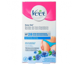 Veet Easy-Gel Bikini Wax Strips - 16 PCS