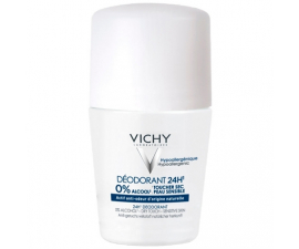 Vichy 0% Alcohol Deodorant - 50ML