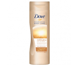 Dove Visible Glow Lotion Fair/Medium - 250 Ml