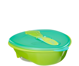 Vital Baby Nourish Bowl with Suction Cup - Green