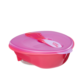 Vital Baby Nourish Bowl with Suction Cup - Pink