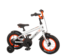 VOLARE Rocky Childrens Bicycle Silver - 3-4.5 years