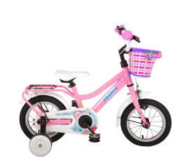 VOLARE Brilliant Childrens Bicycle Pink - 3-4.5 years
